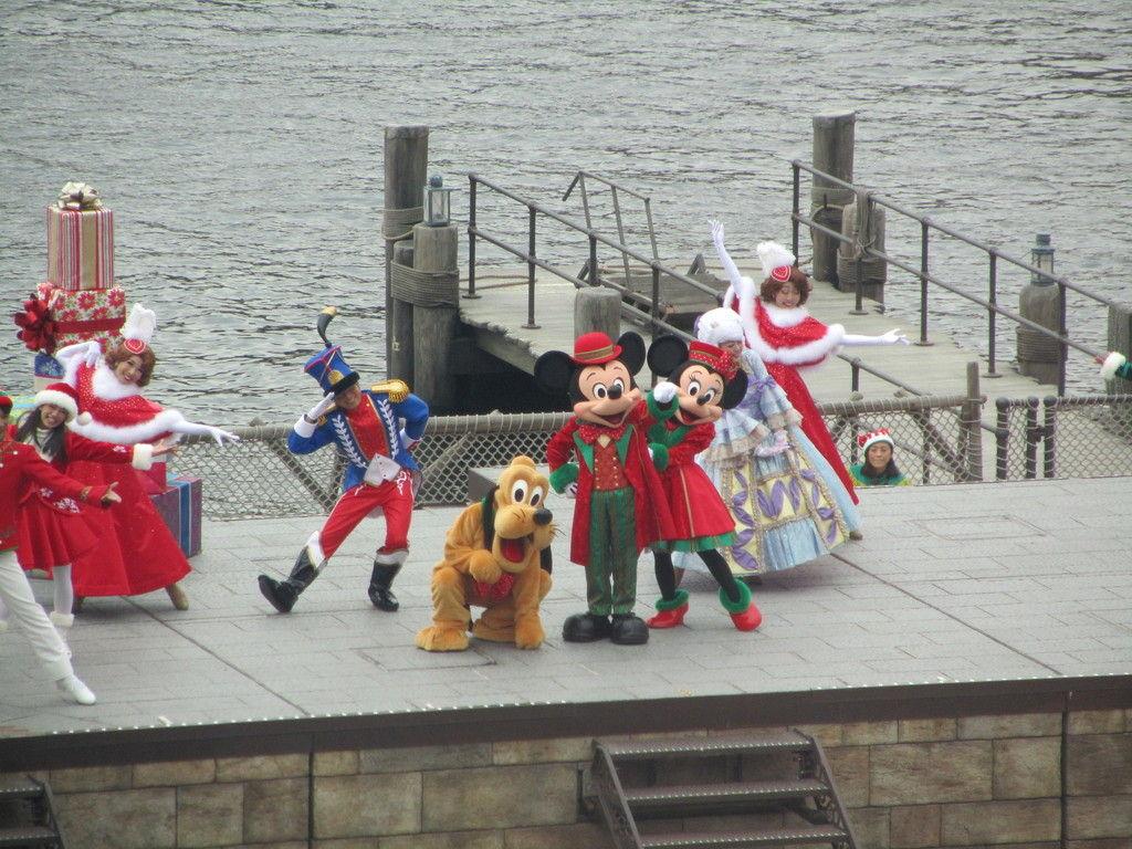 ディズニーシー パーフェクト・クリスマス(4k) : goldcatのお泊まり