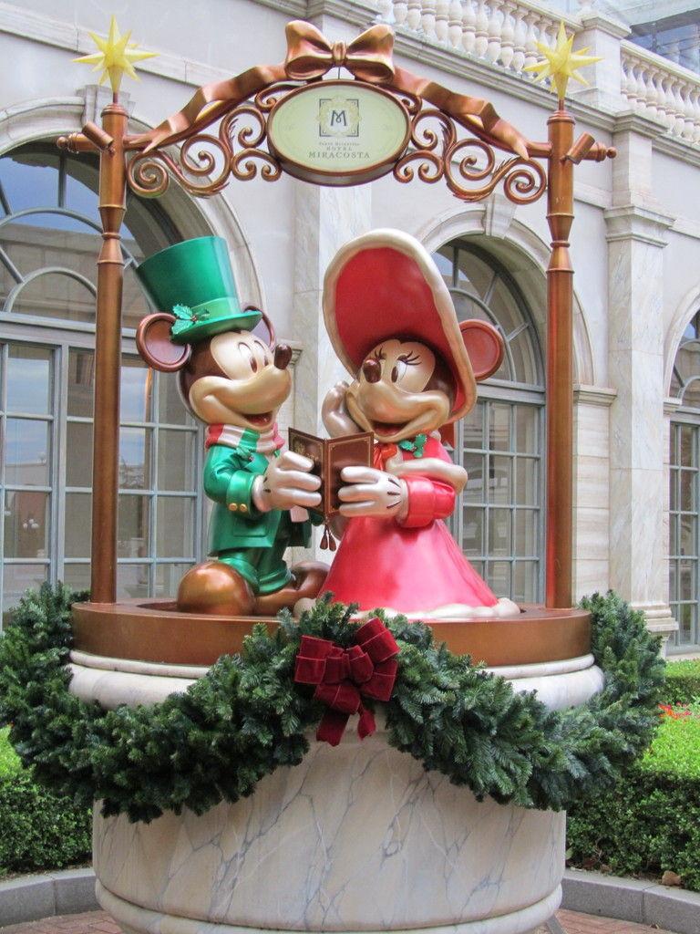 クリスマスのミラコスタ : goldcatのお泊まりディズニー