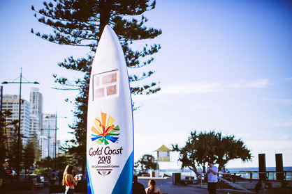 Commonwealth Games countdown clock
