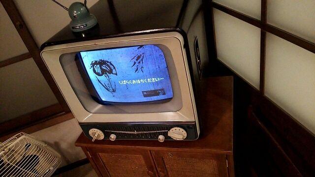 昔のテレビ「このメッセージが見えてるのは異常です。下記に電話してください」とかいうテロップ