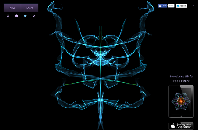 Silk – Interactive Generative Art