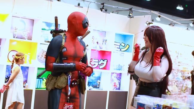 Deadpool vs Anime Expo 2018   YouTube