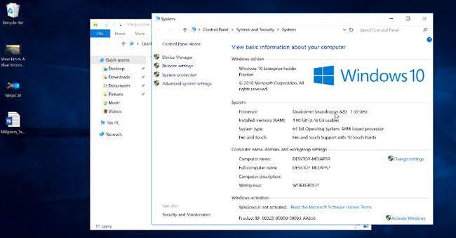 Windows 10 Running on a Qualcomm Snapdragon Processor   YouTube