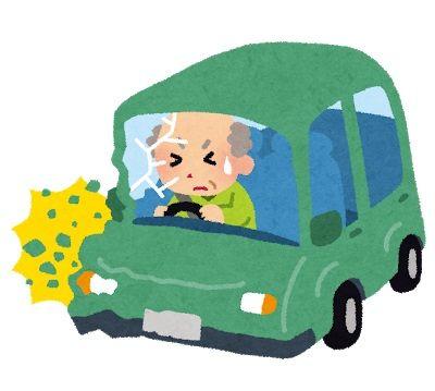 老人75「アクセルを踏んでいてブレーキをかけられなかった」