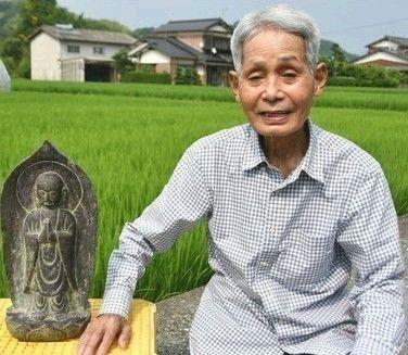 福岡のJK、川遊びの最中に目があった仏像を引き揚げてしまう…