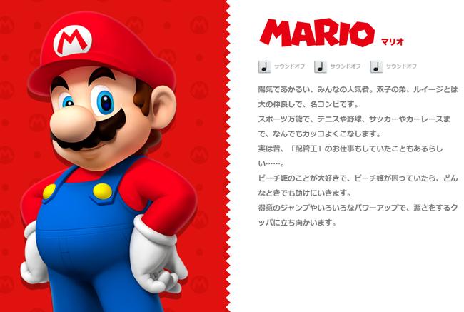 キャラクター   マリオポータル   Nintendo