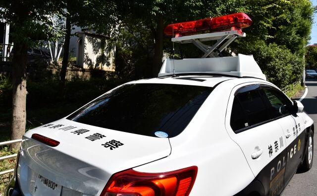 横浜で交番のパトカー燃やされる 交番内にいた警察官4人は休憩中で気づかず