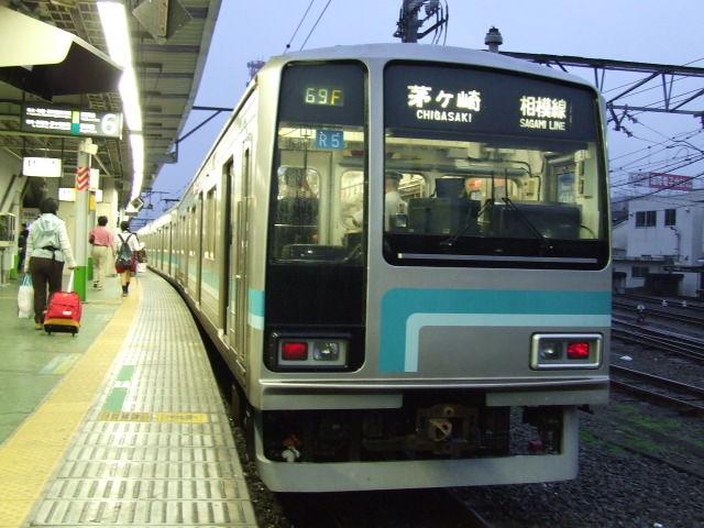 Model_205-500_of_JR_in_Hachioji