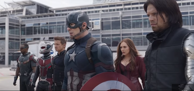 CAPTAIN AMERICA  CIVIL WAR Supere