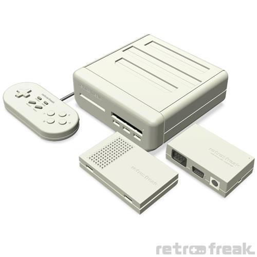 11ハード対応のレトロゲーム互換機「レトロフリーク」10月発売決定、予約受付も開始