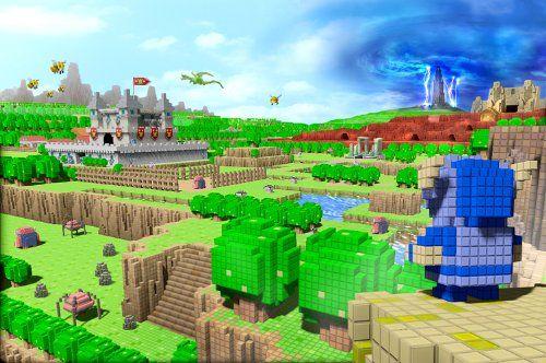 同日に2つもマイクラのパクリゲーが発表される 『ドラゴンクエストビルダーズ』『キューブクリエイター3D』
