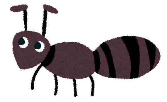 マッマ「甘い物こぼすと蟻さんが来るでしょ!」 ワイ6「ヒェッ・・こぼさんようにしよ」