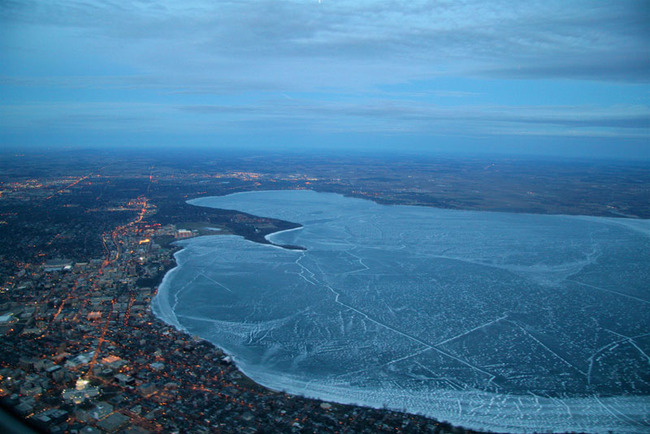 lake-mendota-frozen-from-an-airplane-aerial-view-from-above