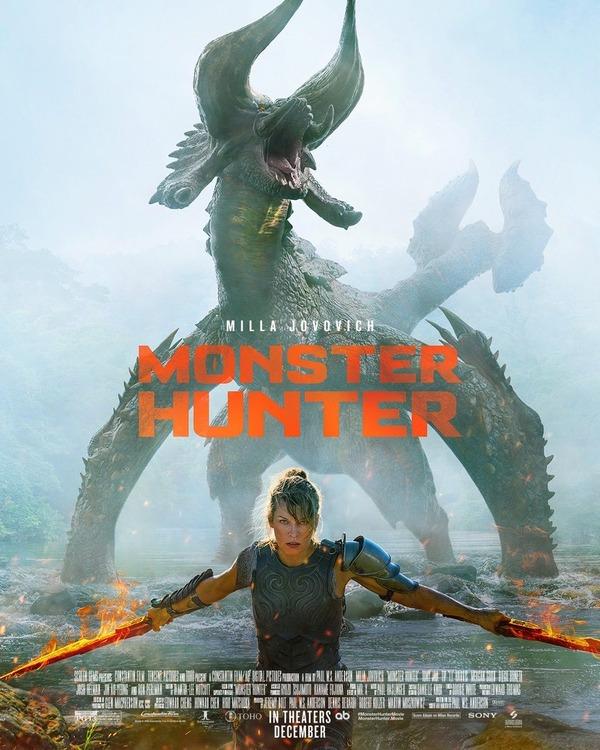 映画「モンスターハンター」本予告とポスターがついに公開wwwwww