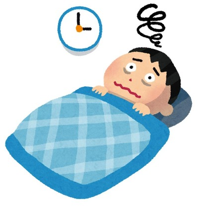 睡眠障害ワイ、18時間の眠りから起床