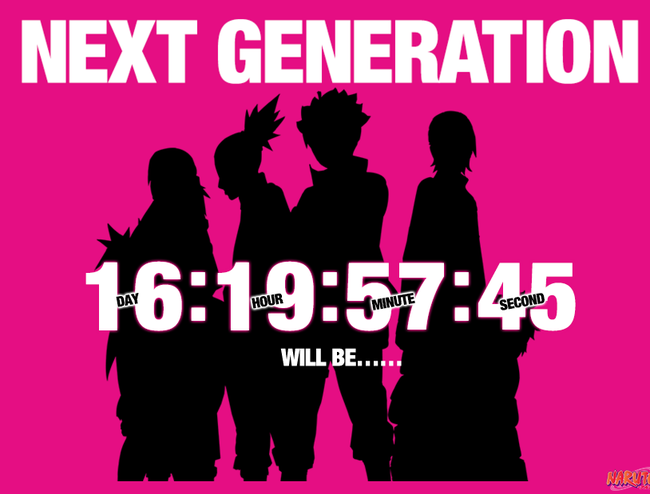COUNTDOWN TO THE NEXT GENERATION