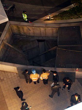 韓国の排気口転落事故の画像がヤバい