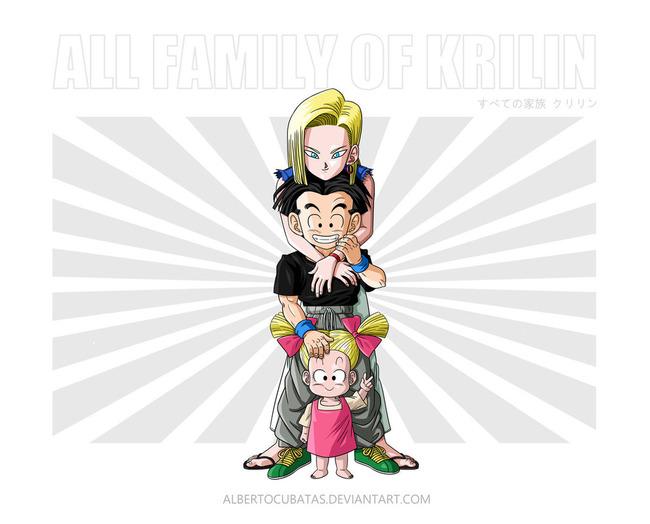 all_family_of_krilin_by_albertocubatas-d96keaj