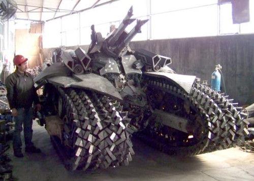 中国農民戦車がやばい