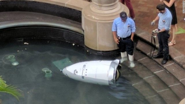 security-robot-drown