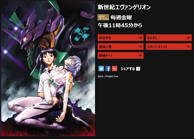 新世紀エヴァンゲリオン   NHKアニメワールド