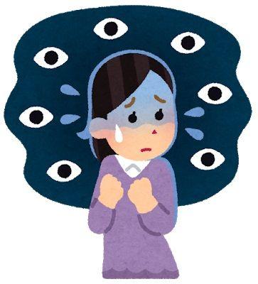 若者の7割「視線がストレス」 6割「視線が怖い」