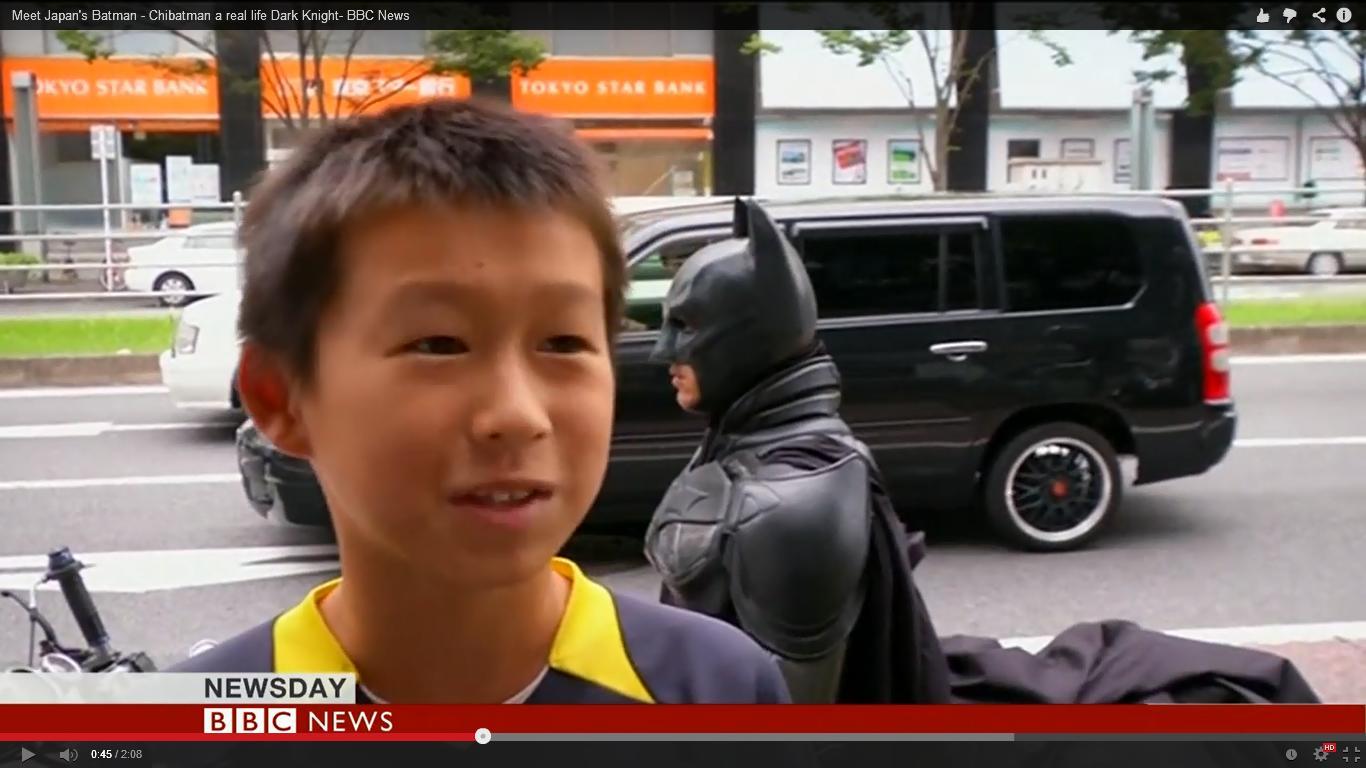 meet chibatman japans real life dark knight