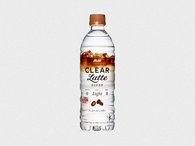 CLEARLatte(クリアラテ)   おいしい水   アサヒ飲料