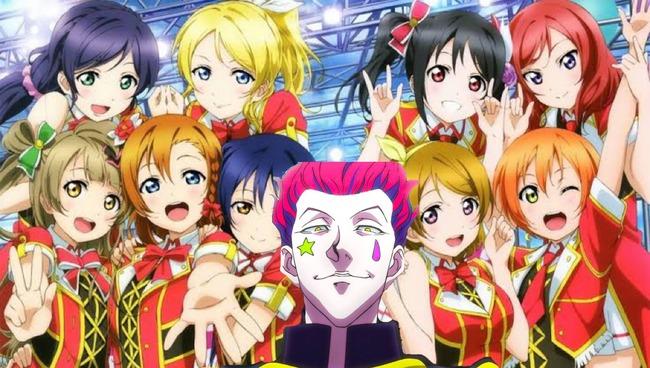 ヒソカ「彼女達が今話題のアイドルグループ…μ'sか…♧」