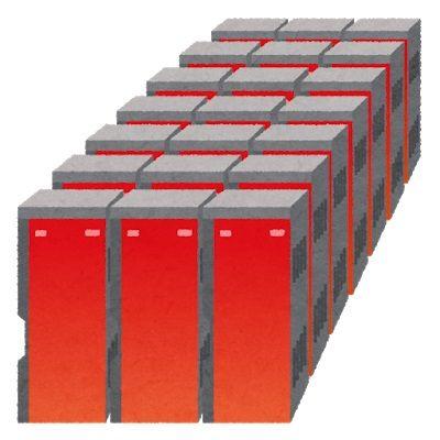 computer_supercomputer_red