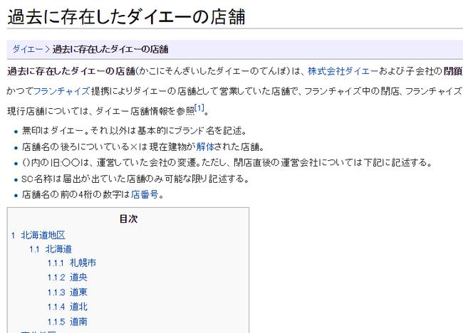 過去に存在したダイエーの店舗   Wikipedia