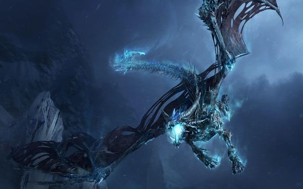 Games-Warcraftのドラゴンの世界