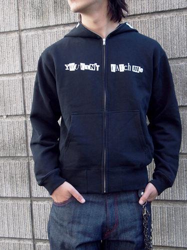 【名探偵コナン】犯人フルジップパーカー サイズ:XL / BLACK