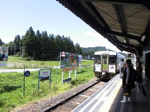 釜石線1両