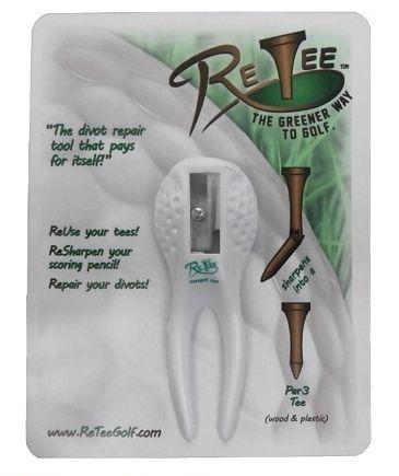 折れたティーを再生:Retee Golf Divot Tool