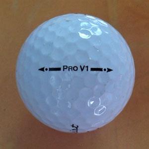 【糸巻き?】ゴルフボール新旧比較