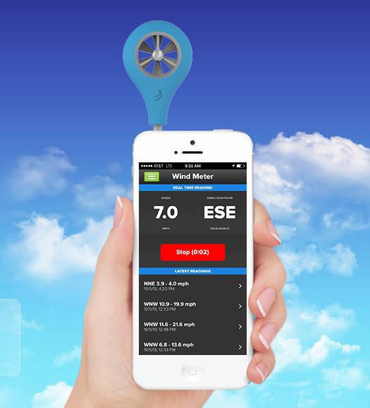 風速計測アプリ
