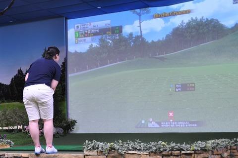 シミュレーションゴルフのプロツアー「GTOUR」で初優勝!