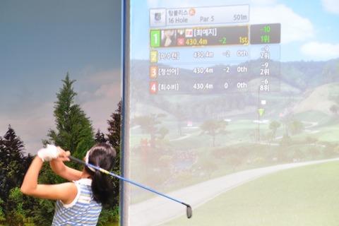 シミュレーションゴルフのプロツアーGTOUR参加者のゴルフ論