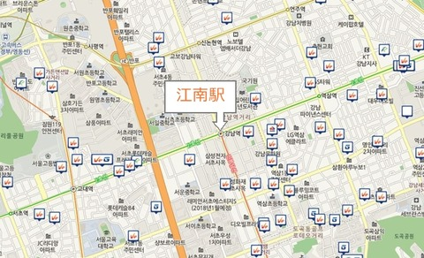 江南駅周辺1.5km圏内
