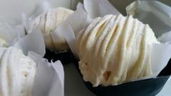 今月のご褒美 わかさいも本舗の白いモンブラン