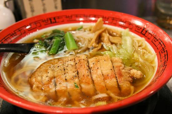 排骨麺パーコー麺