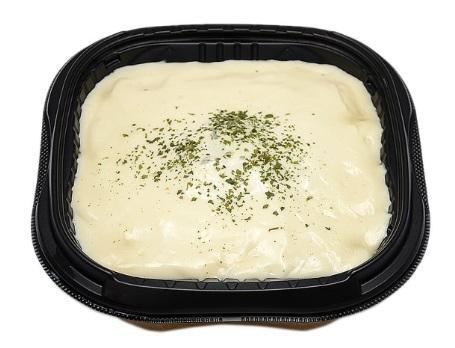 白いチーズソースのキーマカレー