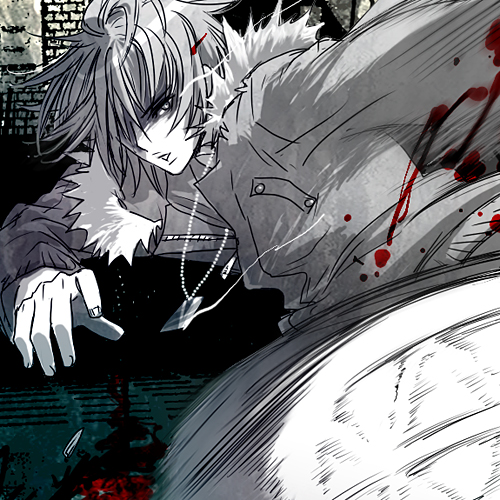 「咎狗の血」アキラ -Ture blood-