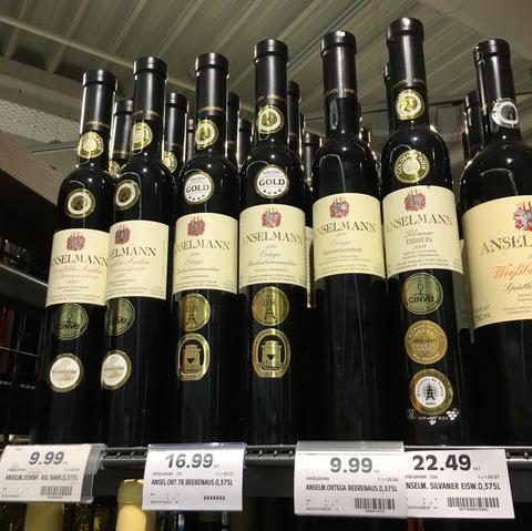 ドイツでご当地貴腐ワインを飲む