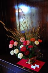 花で彩る西洋館8