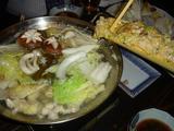 串ボウズ鶏なべ