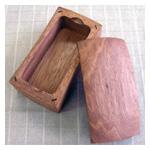 木製のバターケース