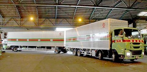運送業界「トラックの運転手不足も限界や・・・せや!」