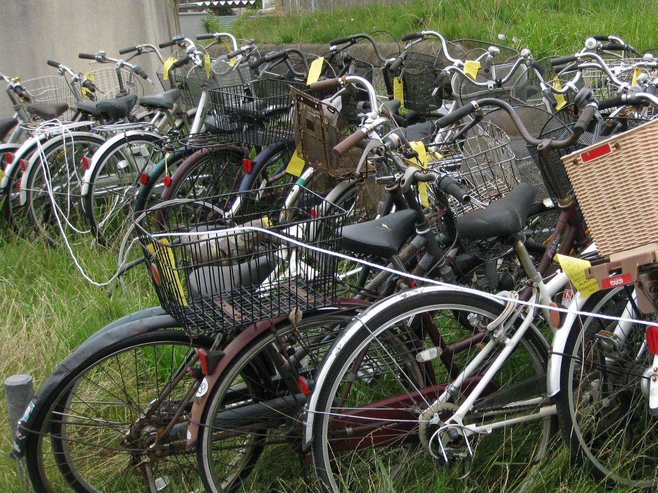 ... ) : 団地内放置自転車の処分
